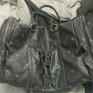 Mickey full leather duffle